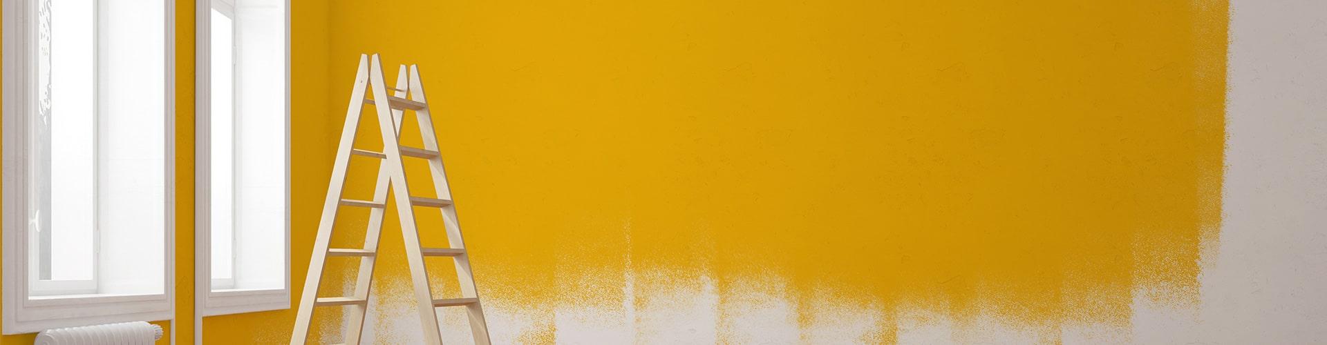 Peinture À L Éponge Sur Mur peinture salon : prix des travaux de peinture et devis